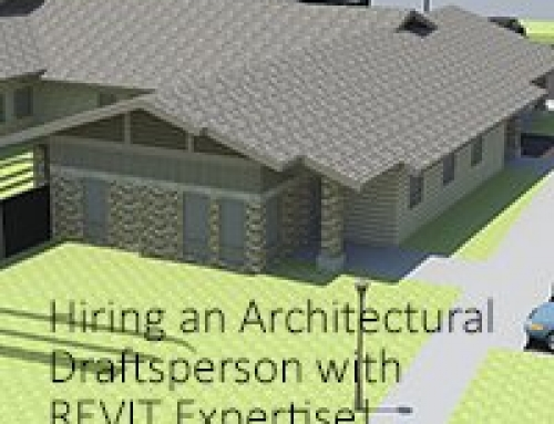 Searching for Architectural Intern / Drafter – Experienced with Revit