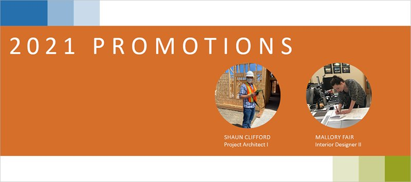 2021 Promotions
